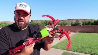Best Experiment Orbeez vs Launcher DIY Candy Canon Challenge What Happens?!
