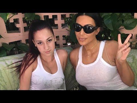 "AWKWARD! Kim Kardashian Meets ""Cash Me Outside"" Girl Danielle Bregoli and Doesn't Even KNOW It! thumbnail"