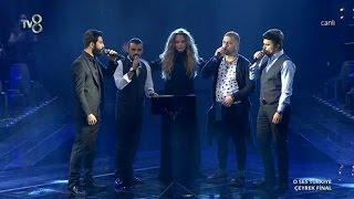 Gökhan ve Takımı Bektaşi Nefesi ile Geceye Damga Vurdu - O Ses Türkiye Çeyrek Final 11 Şubat 2015