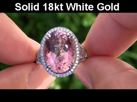 quotpink pantherquot vivid pink tourmaline amp diamond cocktail
