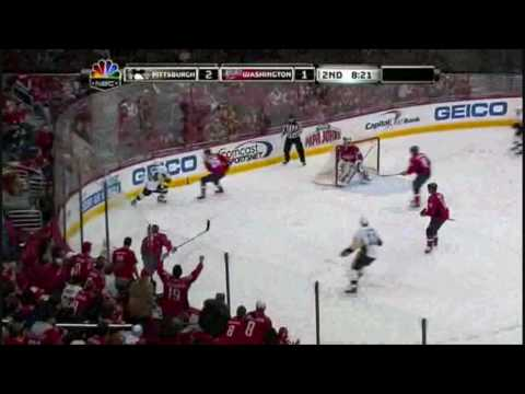Pittsburgh Penguins VS Washington Capitals 2010-2-7 Video