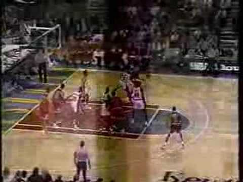 Michael Jordan 1997: 45pts Vs. Sonics, George Karl Game