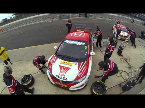 Life As A Race Team Wheel Gun | Honda Yuasa Racing