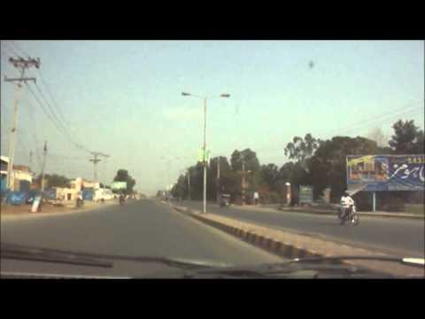 Driving on vehari raod, Multan, Punjab, Pakistan