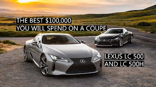 2019 Lexus LC500 AND LC500h