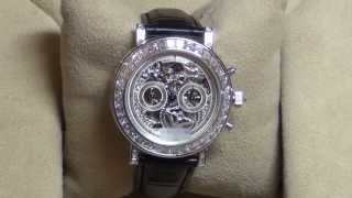 Ювелирные часы Breguet Classique Skeleton Full Diamond