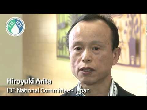 Hiroyuki Arita on the Japanese dairy industry and IDF World Dairy Summit 2013