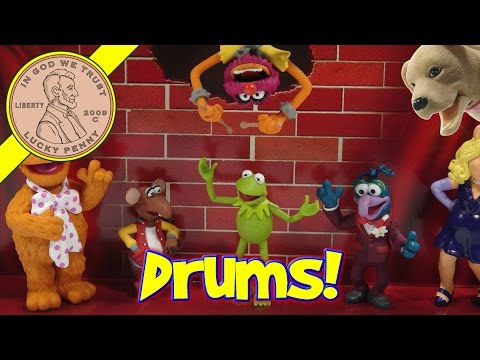Disney Parks The Muppets Collectible Figure Set video