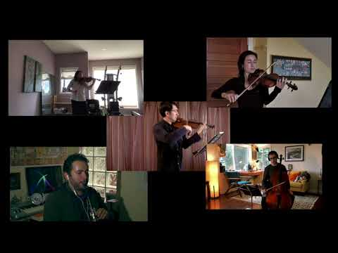 'Virtual' Mozart Clarinet Quintet (2nd Mov, excerpt)