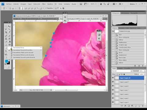 03 - Curso de Photoshop - Herramienta Pluma - Parte 2
