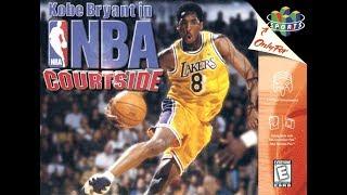 Kobe Bryant's NBA Courtside N64 Playthrough - Season Mode - Spurs vs Lakers (1080p/60fps)
