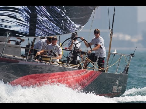 Volvo Ocean Race - Sanya Leg 4 Start Buddha Course Part 1 2011-12