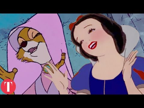 10 Times Disney RE-USED Animation In Movies