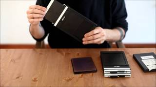 Two minutes or less: How to load Large format sheet film holders