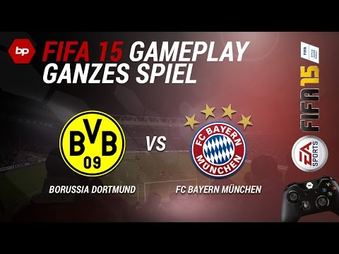 FIFA 15 Full Gameplay | Borussia Dortmund vs FC Bayern München | High Quality [HD][German]