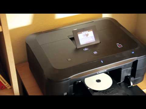 Copying DVD Labels With Canon All-In-One Printers | How To ...