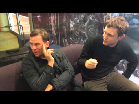 Matt Edmondson does Awkward Magic for Danny Howard, Scott Mills, Chris Stark and Huw Stephens