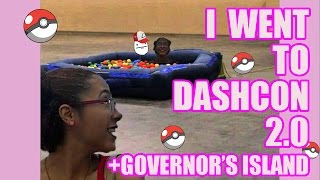 I WENT TO DASHCON 2.0?! // GOVERNOR'S ISLAND STORYTIME