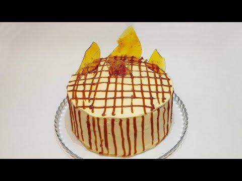 "ТОРТ ""КАРАМЕЛЬНАЯ ДЕВОЧКА"" (cake ""caramel girl"")"