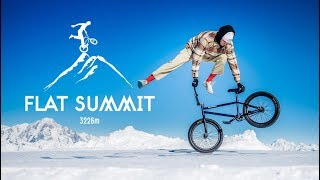 BMX Riding 10 000 ft high - Matthias Dandois - Flat Summit