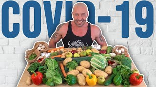 Seriously Ill COVID Patient Goes Vegan & Recovers