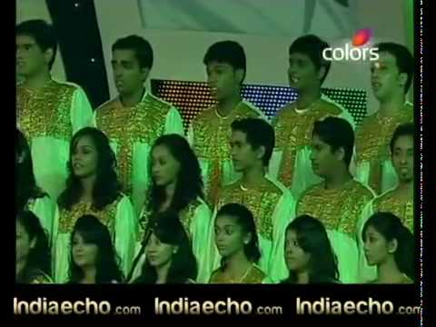 A.r.rahman  Ipl Awards 2010 Vande Mataram video