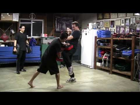 Simple Kickboxing Pad Work with Jeremy Lynch Image 1