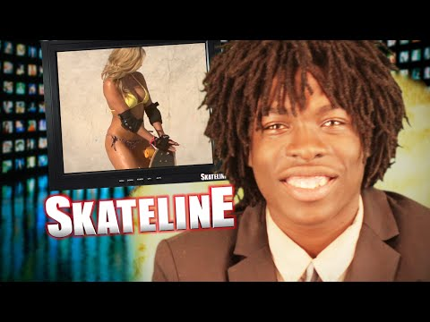SKATELINE - David Gonzalez, Caswell Berry, Playboy Playmates Skate A Pool and more...