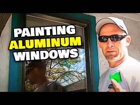 Painting Aluminum Windows