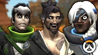OVERWATCH ► FUNNIES, FAILS & CRAZY MOMENTS #93