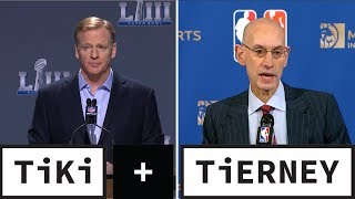 NFL Owners Want to Hire Adam Silver | Tiki + Tierney