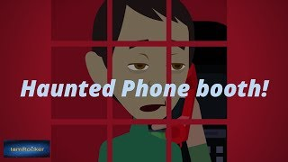 Phone Booth - Scary Story (Animated in Hindi)