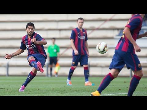 FC Barcelona B - Selección Indonesia sub 19 (6-0)