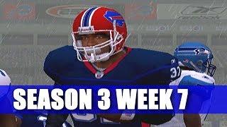WHY YOU LET HIM GO? ESPN NFL 2K5 BILLS FRANCHISE VS SEAHAWKS (S3W7)