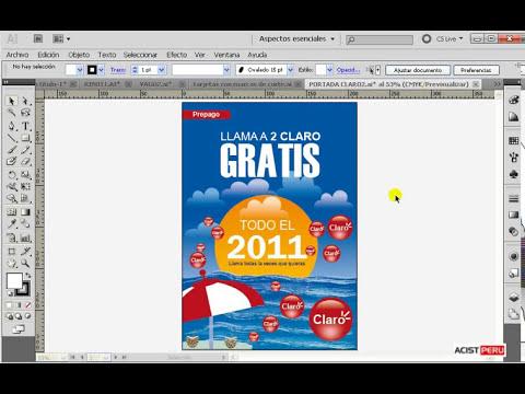 Curso a Distancia de Diseño Gráfico Digital, Illustrator cs5 -  Introducción   (1 de 12)