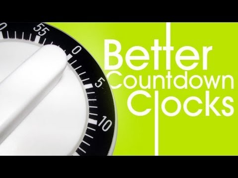 CMD 57: Better Countdown Clocks in After Effects