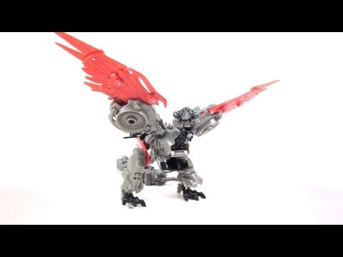 Video Review of the Transformers 3 Dark of the Moon (DOTM) Deluxe Class; Laserbeak