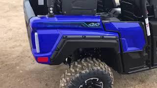 2018 Yamaha Wolverine X4 850 Blue