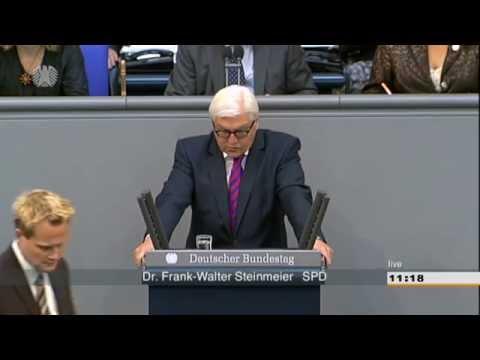 Gute Ganztagsschulen - Rede von Frank-Walter Steinmeier im Bundestag