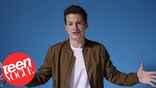 Charlie Puth Answers First Date Questions | Teen Vogue