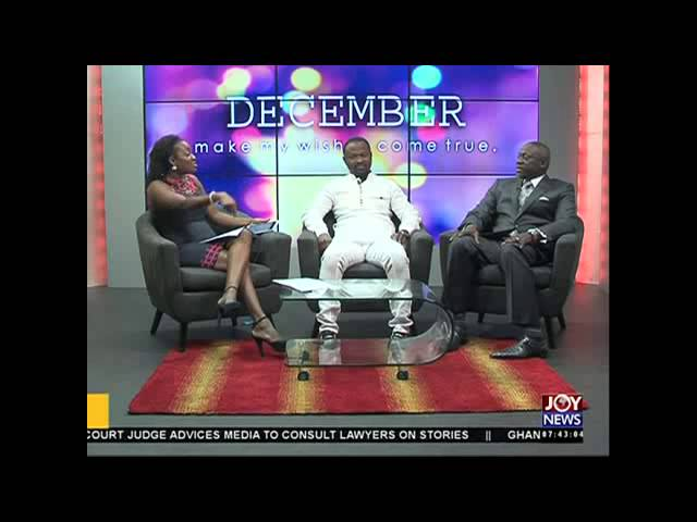 Christianity and wealth - AM Show on Joy News (01-12-15)