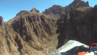Palm Canyon aerial video 19Apr15
