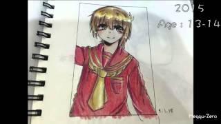 My Anime Drawings Since 2010 - 2016