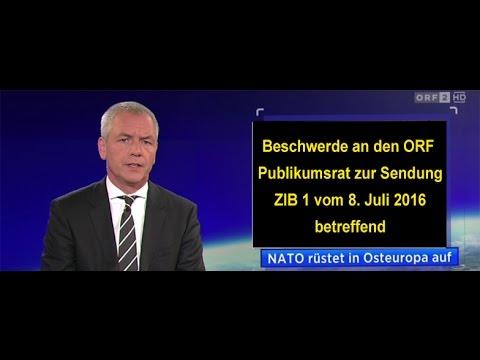 ZIB 1 NATO Treffen in Warschau 2016