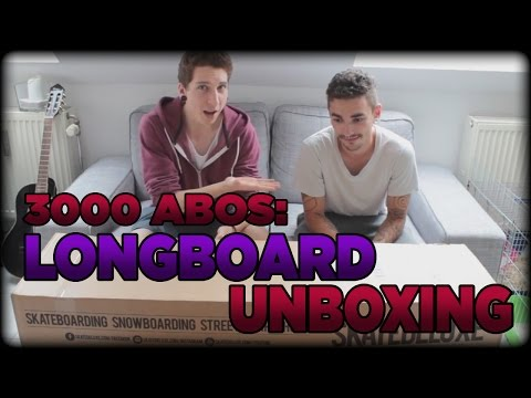 LONGBOARD - UNBOXING: Loaded Tan Tien    3000 Abo Special    mit Thamstor