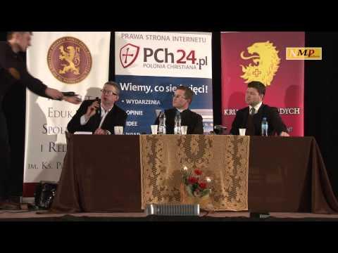 Grzegorz Braun I Ks. Grzegorz Śniadoch Spotkanie W Białymstoku