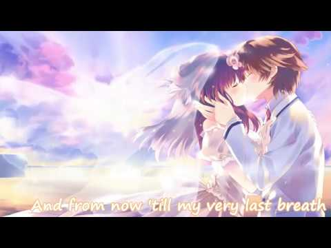 Nightcore - Beautiful In White || Lyrics