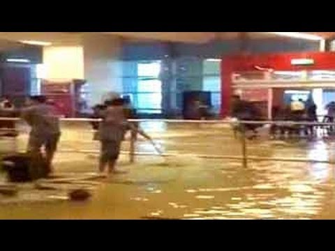 Delhi airport, 'world's second-best', flooded after heavy rain