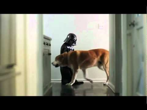 Comercial da Volkswagen 2 - The Mini Darth Vader Strikes Back