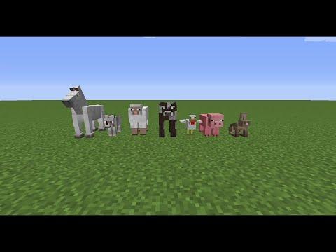 Minecraft Tiere Zähmen Und Züchten [Tutorial]
